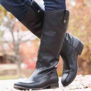 Frye Melissa Button boots black size 8.5 like NEW